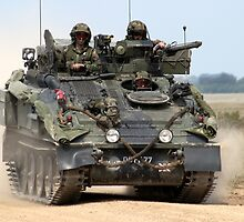 British Army FV103 Spartan Armoured Personnel Carrier by Andrew Harker