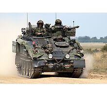 British Army FV103 Spartan Armoured Personnel Carrier Photographic Print
