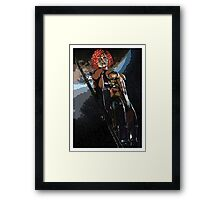 Guardian of the World Framed Print