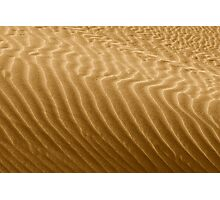 Ripples in Kelso's Singing Sand Photographic Print