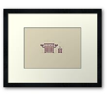 Chest of drawers Framed Print