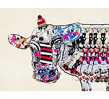 cow in new york  Photographic Print
