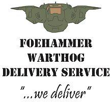 Foehammer Delivery Service by KieranADesigns