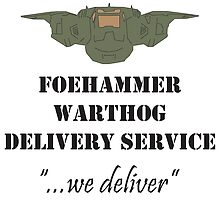 Foehammer Delivery Service by KieranADesigns