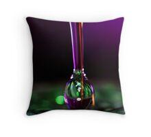 Liquid Sculpture Throw Pillow