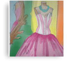 Princess dress Canvas Print