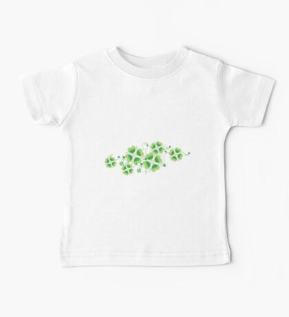 Clovers - St Patricks Day Baby Tee