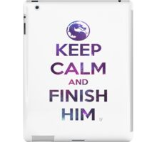 FINISH HIM! iPad Case/Skin