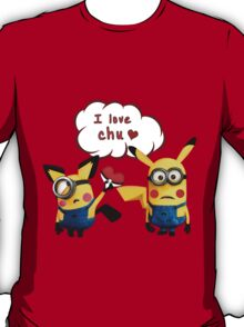 Pichunion and Minionachu T-Shirt