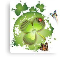 Clover - St Patricks Day Canvas Print