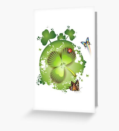 Clover - St Patricks Day Greeting Card