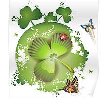 Clover - St Patricks Day Poster