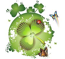 Clover - St Patricks Day Photographic Print