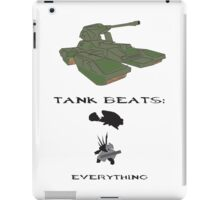 Tank beats Everything! iPad Case/Skin
