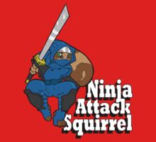Ninja Attack Squirrel by TehBurningDonut