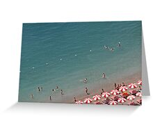 Seaside Colours Greeting Card