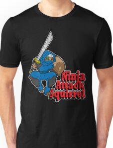 Ninja Attack Squirrel (DARK) Unisex T-Shirt