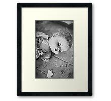 Broken doll p1 Framed Print