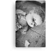 Broken doll p1 Canvas Print