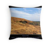 Cave Hill - Goldfields - Western Australia Throw Pillow