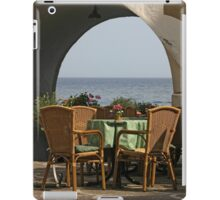 Table with a View iPad Case/Skin