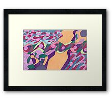Waterline Framed Print