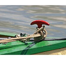 Boat Detail Photographic Print