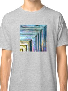 Abstract Bismuth Classic T-Shirt