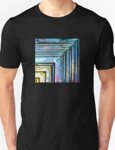 Abstract Bismuth Unisex T-Shirt