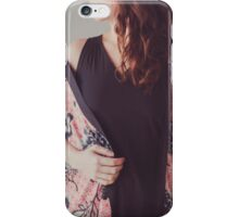 She Dreams of Spring iPhone Case/Skin