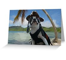 Capt Jack Sparrow ... Greeting Card