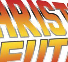 Barista of the future Sticker