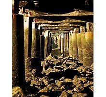 Beneath the Pier Photographic Print