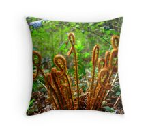New Life Unfolding Throw Pillow
