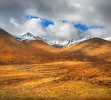 Distant Snow by Dave Hare