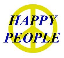 Peace Happy People Photographic Print