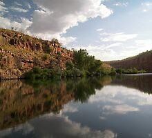 El Questro Sation, Chamberlain Gorge, Western Australia. by Lisa Evans