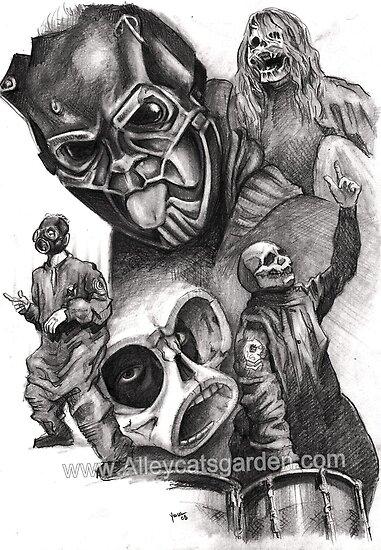 Sid Wilson Slipknot by Alleycatsgarden