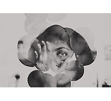 thought bubbles Photographic Print