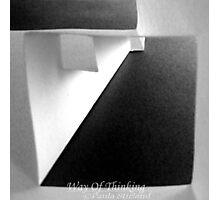 Way Of Thinking Photographic Print