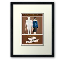 Double Indemnity Framed Print