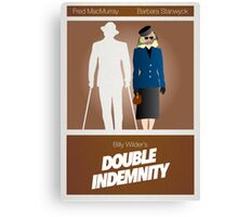 Double Indemnity Canvas Print