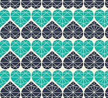 Heart-shaped pattern by KarinBijlsma