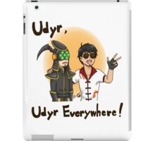 Udyr, everywhere! iPad Case/Skin