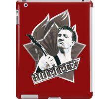 HOMME4 iPad Case/Skin