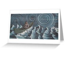 Lone Voyager Greeting Card