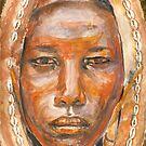 African Mask by J-C Saint-Pô