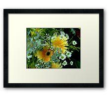 Gentle Display  Framed Print