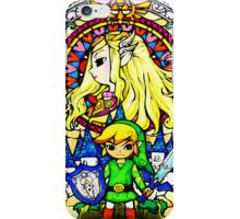 Zelda Wind Waker Stained Glass  iPhone Case/Skin