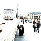 Paris - Old Hunched Lady by Jouer